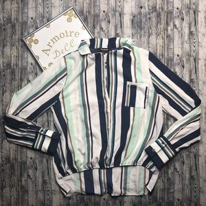 ⚡️Ups and Downs Blouse